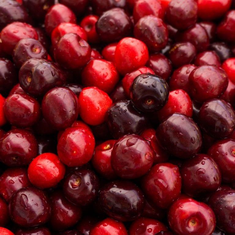 Sweet cherry. cherry background